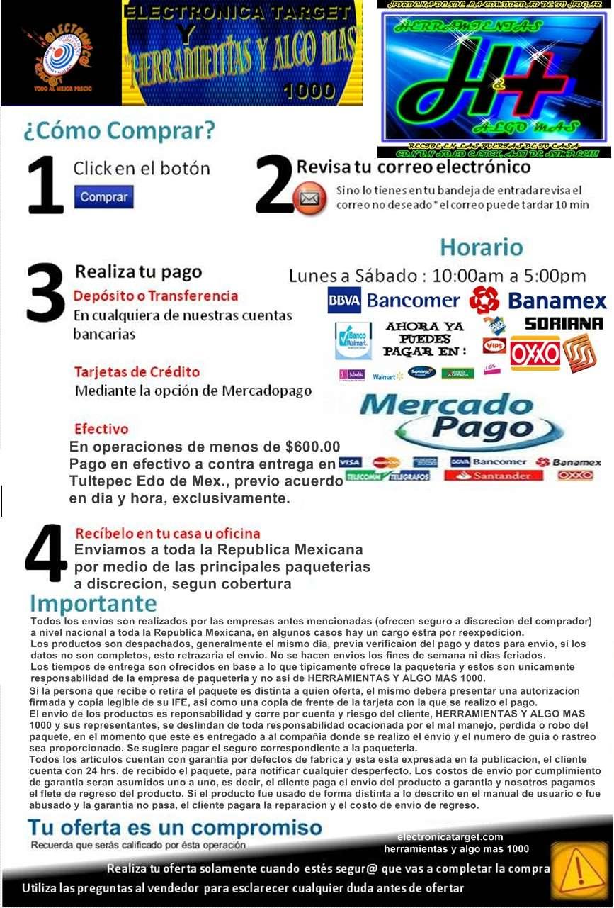 MERCADO LIBRE ELECTRONICATARGET.COM