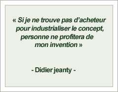 Citation de Didier Jeanty, chauffagiste