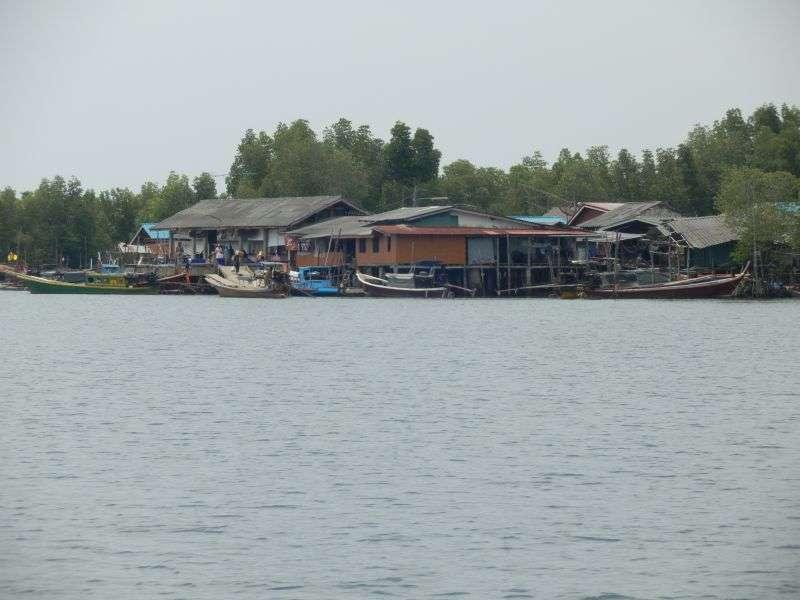 der Hafen von Koh Libong