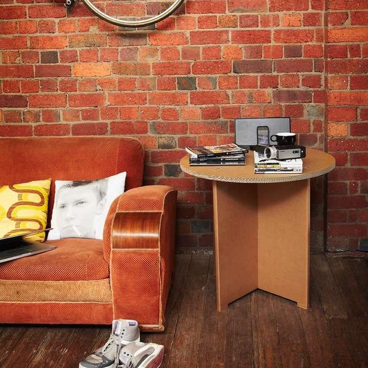 karton03 - Decoración Eco Chic: Muebles hechos de cartón