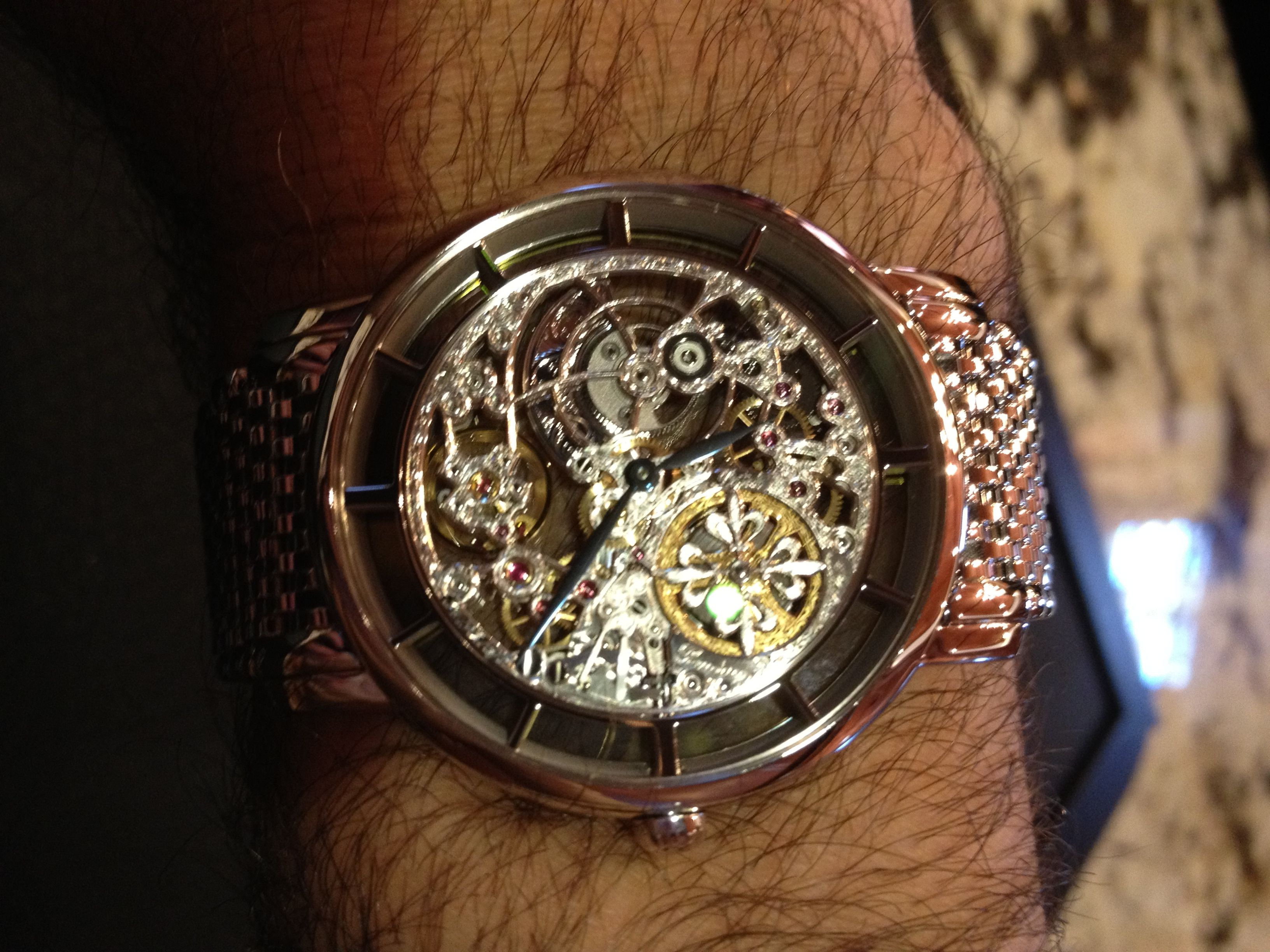 patek philippe skeleton on my wrist drool On patek philippe skeleton